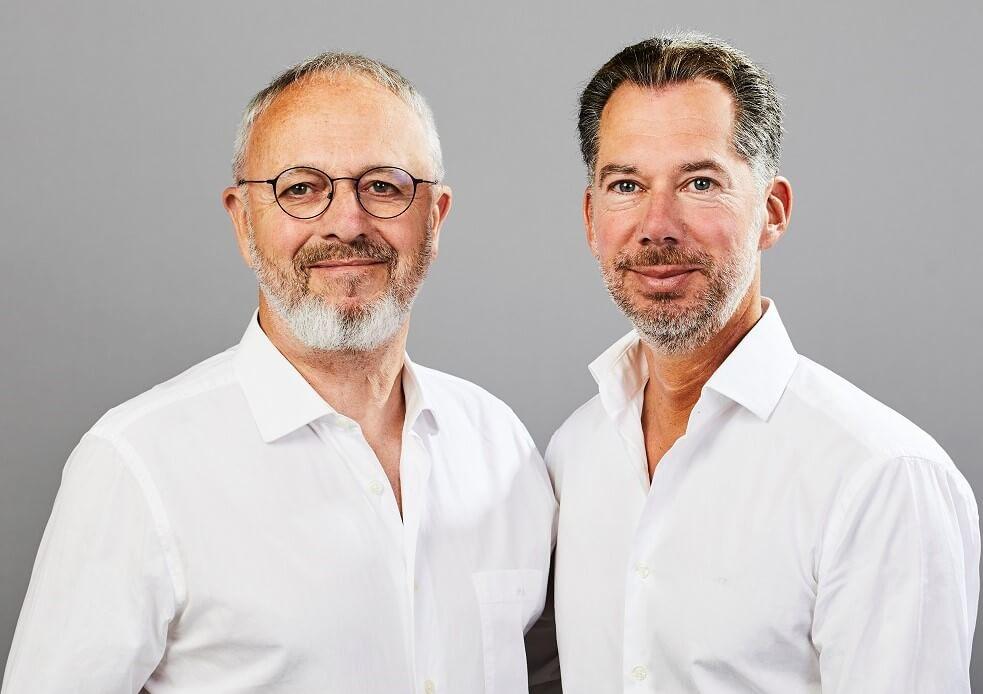 Dr. Huber und Dr. Großefeld im Portrait